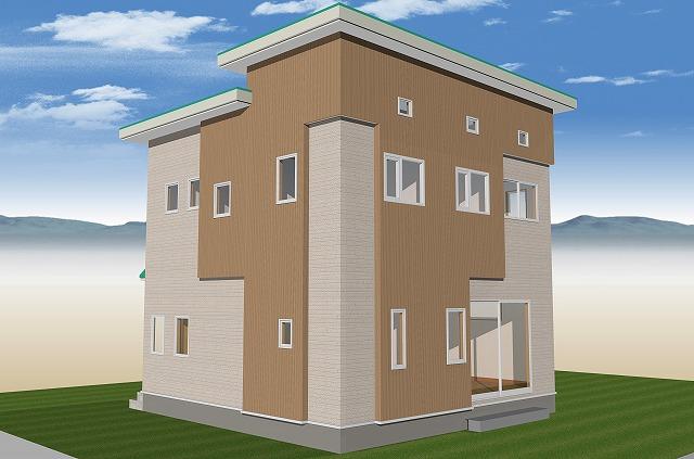 """""""コンパクトなのに大空間 ボルダリングとロフトのある家"""""""