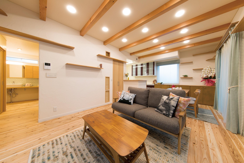 ペットと一緒に暮らすエアコン1台「コンフォート24」の省エネでアイデアいっぱいの家
