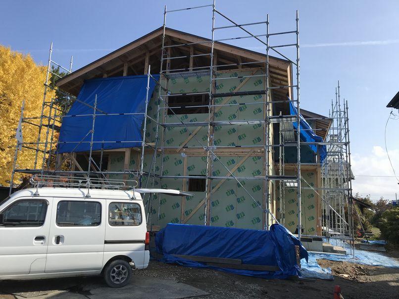 こだわりの完全二世帯住宅 構造現場見学会開催