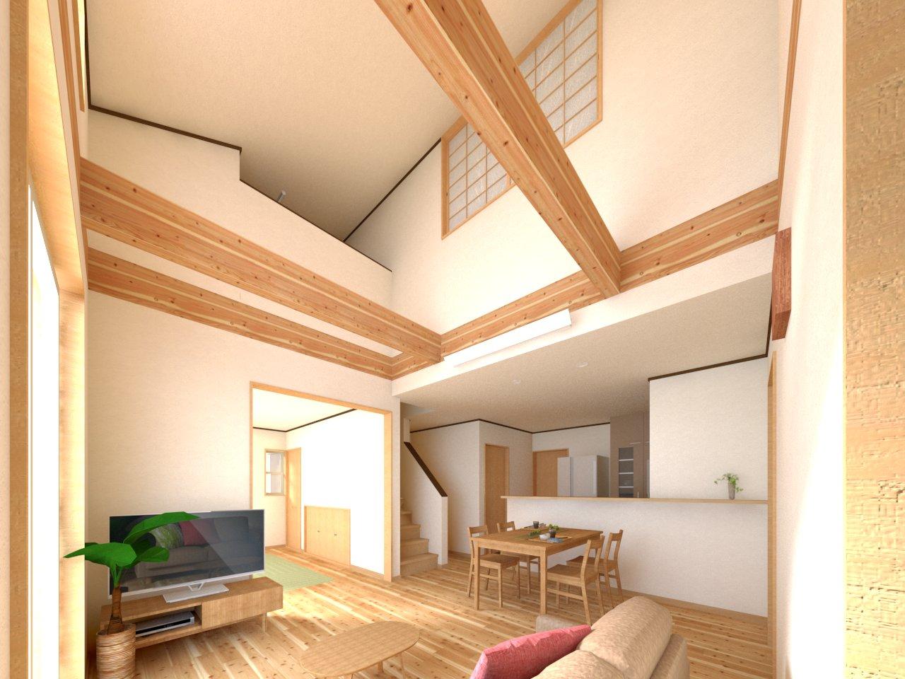 「33坪の大きさで2世帯対応住宅」お家 完成見学会